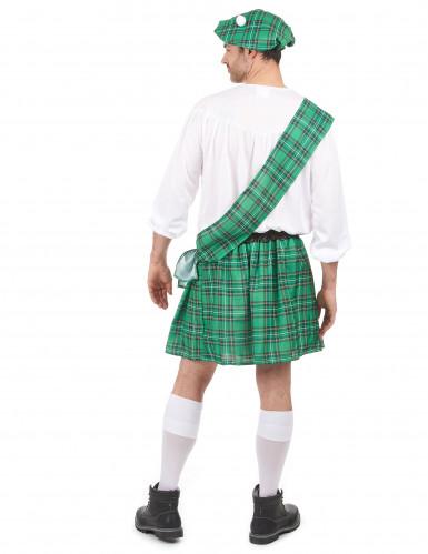 Déguisement Écossais vert et blanc homme-2