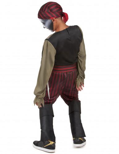 Déguisement pirate zombie garçon-2