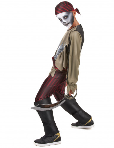Déguisement pirate zombie garçon-1