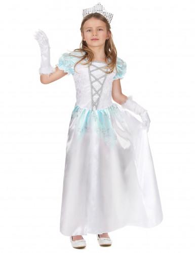 Déguisement princesse satiné fille