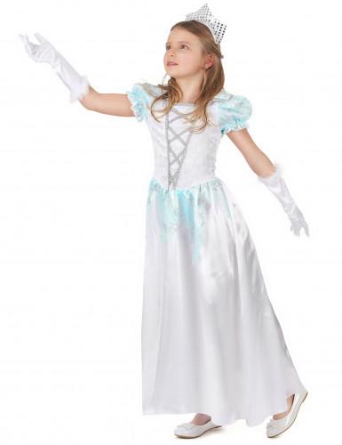 Déguisement princesse satiné fille-1