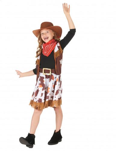 Déguisement cowboy de l'ouest fille-1