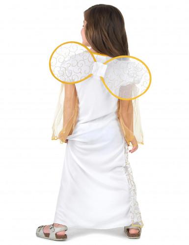Déguisement ange blanc de Noël fille-2