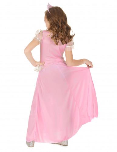 Déguisement princesse rose enfant-2