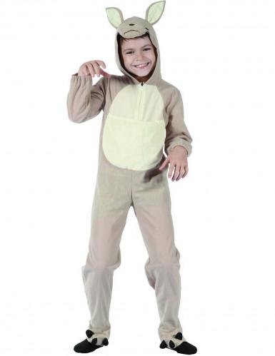 Déguisement kangourou beige enfant