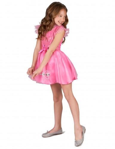 Déguisement princesse paillettes roses fille -1