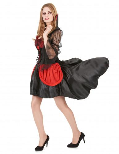 Déguisement Vampire Sexy rouge Femme-1