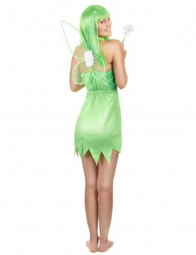 Déguisement fée verte femme-2