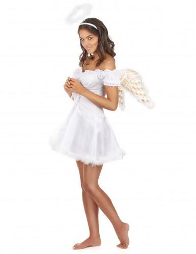 Déguisement ange blanc sexy femme-1