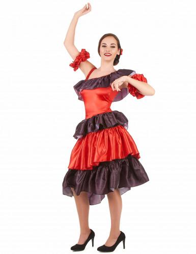 Déguisement flamenco femme-1