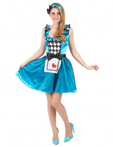 Déguisement Alice au pays imaginaire femme