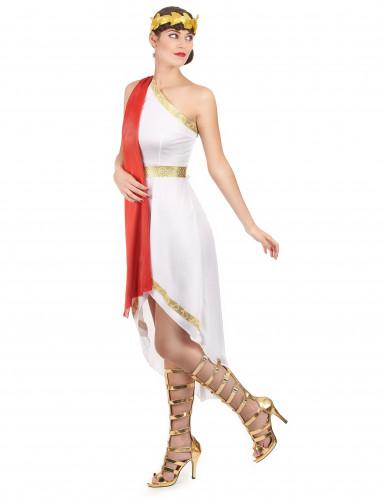 Déguisement romaine élégante femme-1
