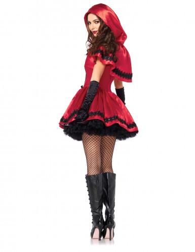 Déguisement chaperon rouge chic femme-1