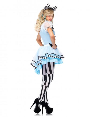 Déguisement princesse bleue des merveilles femme-1
