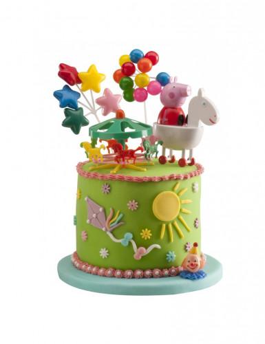 Kit de décorations gâteaux Peppa Pig™-1