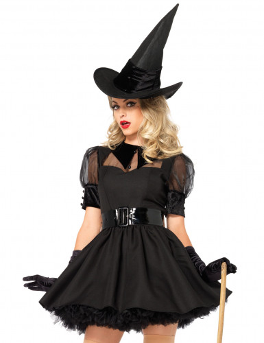 Déguisement sorcière chic femme-1