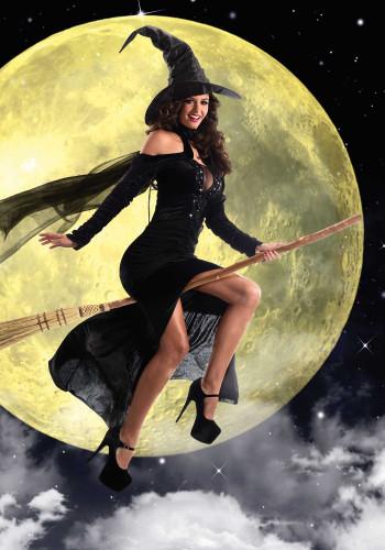 Déguisement sorcière sexy femme-1