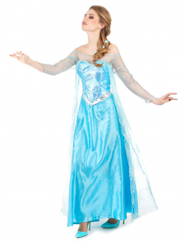 Déguisement Elsa La Reine des Neiges™ adulte-1