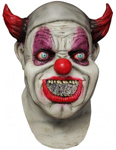 Masque intégral animé clown adulte