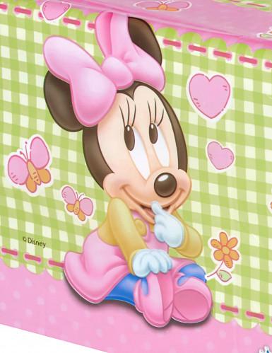 Nappe plastique Bébé Minnie ™ 120x180 cm-1
