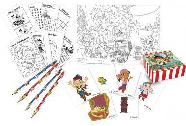 Kit dessin Jake et les Pirates ™
