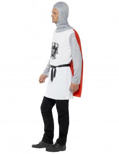 Déguisement chevalier blanc homme-1