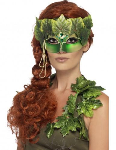 Masque nymphe de la forêt femme