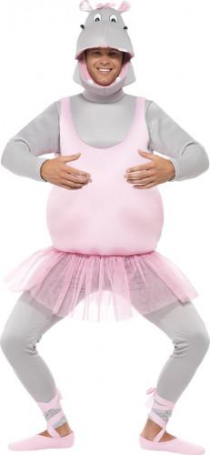 Déguisement hippopotame ballerine adulte