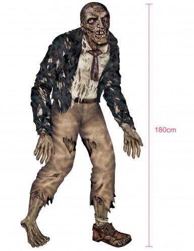Zombie articulé Halloween 1m80-1