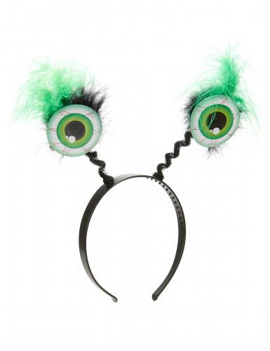 Serre-tête globes oculaires verts