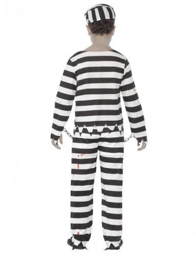 Déguisement zombie prisonnier garçon Halloween-1