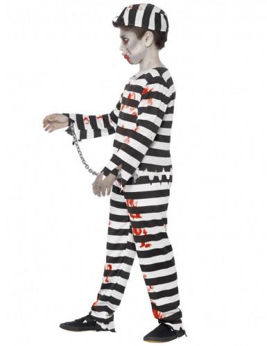 Déguisement zombie prisonnier garçon Halloween-2