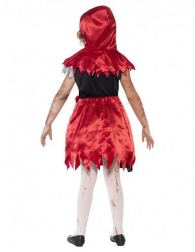 Déguisement zombie chaperon rouge fille-1