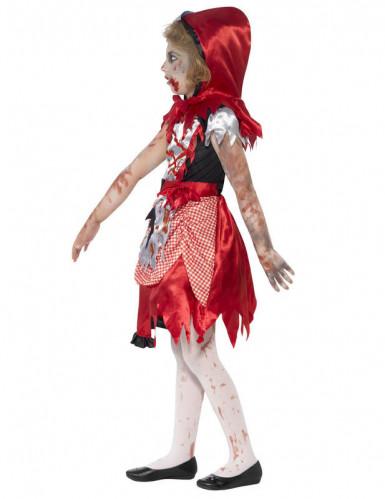Déguisement zombie chaperon rouge fille-2