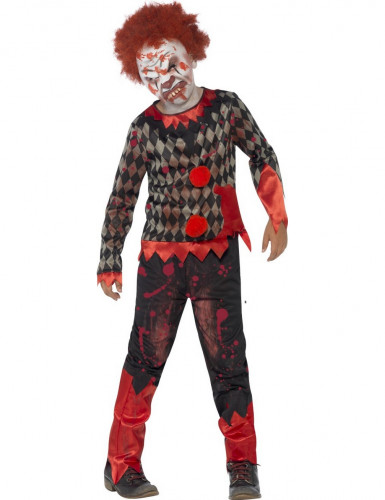 Déguisement zombie clown enfant Halloween