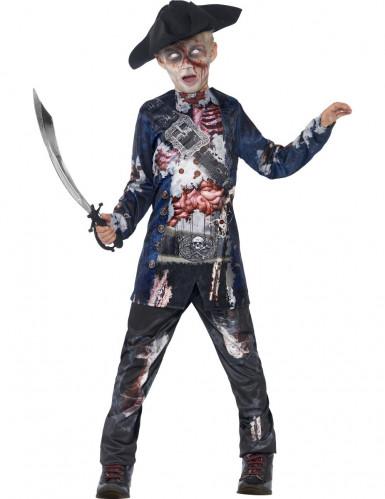 Déguisement zombie pirate garçon Halloween