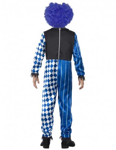 Déguisement clown arlequin enfant Halloween-1