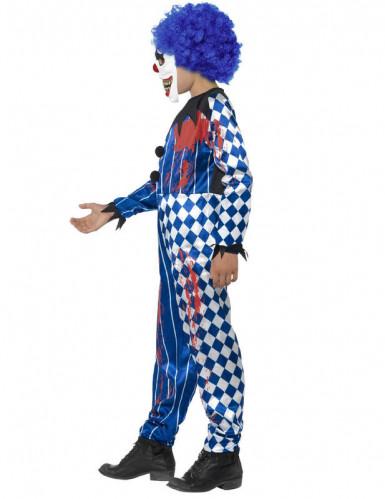 Déguisement clown arlequin enfant Halloween-2
