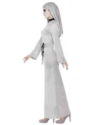 Déguisement fantôme religieuse femme Halloween-1
