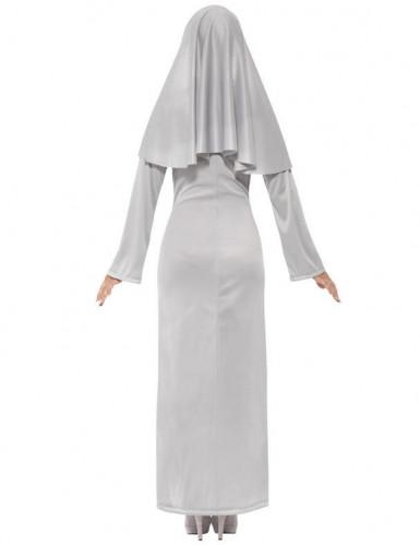 Déguisement fantôme religieuse femme Halloween-2
