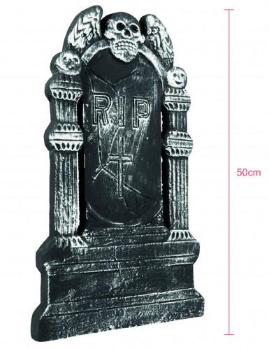 Décoration tombe squelette Halloween 50 x 30 cm-1