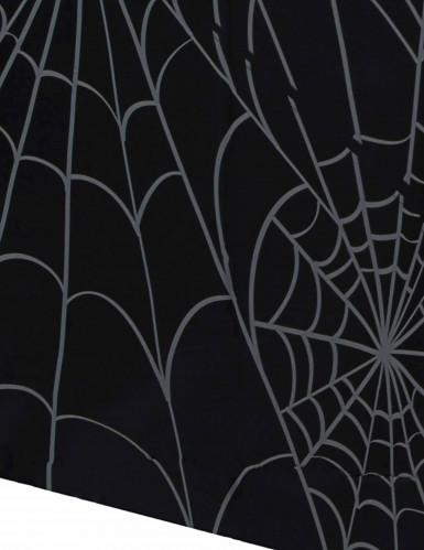 Nappe noire toiles d'araignées en plastique 137 x 213 cm-1