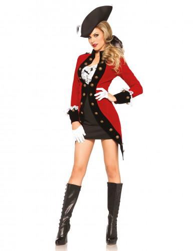 Déguisement pirate révolutionnaire femme