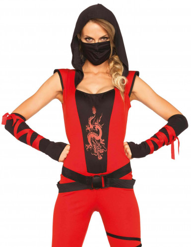 Déguisement ninja combinaison femme-1