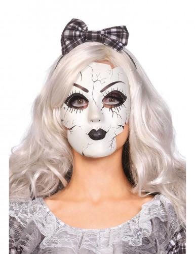 Masque poupée de porcelaine