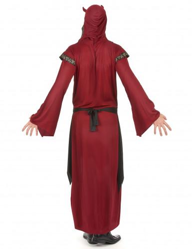 Déguisement comte satanique rouge homme Halloween-2
