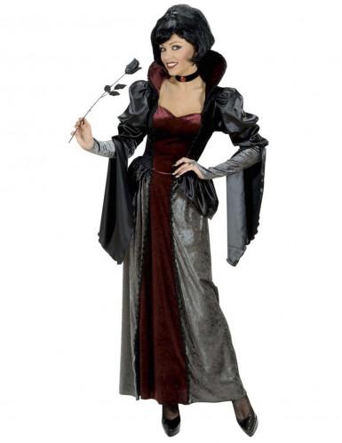 Déguisement vampire comtesse luxe femme Halloween