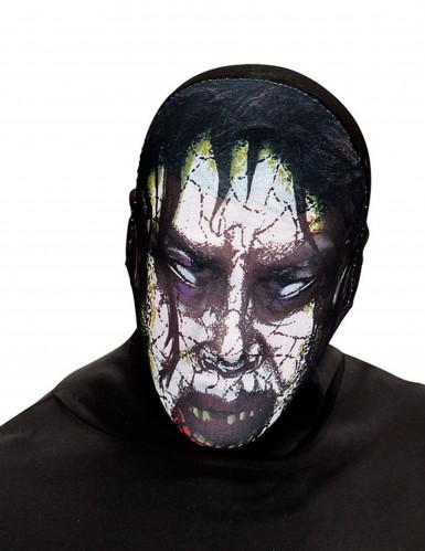 Masque zombie possédé adulte Halloween