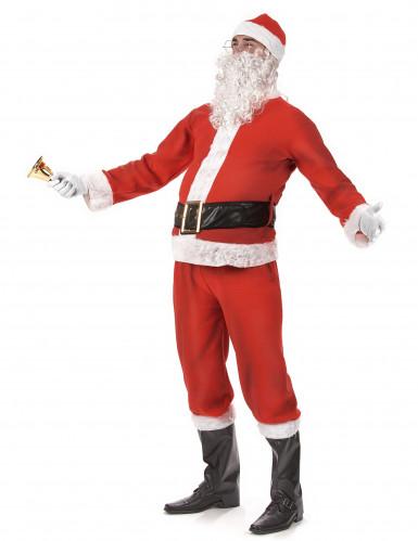 Déguisement Père Noël complet Adulte-1