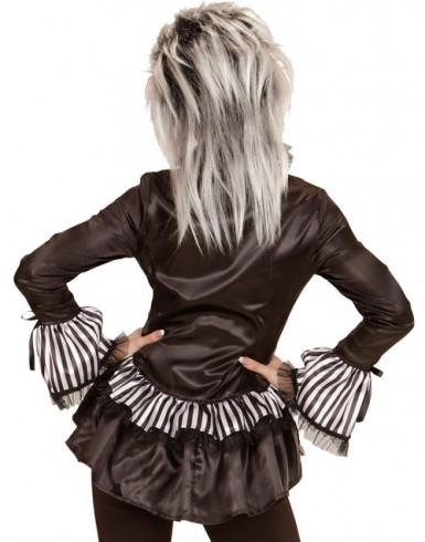 Chemise squelette femme Halloween-1